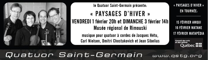 prochain événements 1 et 3 février 2013 « Paysages d'Hiver »